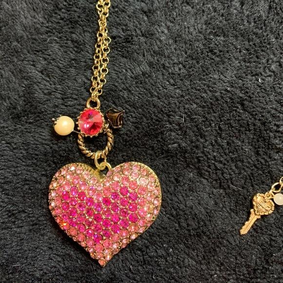 Betsy Johnson long necklace